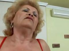 Curly And Breasty Granny tube porn video
