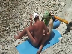 Caught on the beach tube porn video