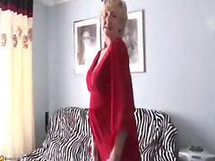 Grandma, Granny, Masturbation, Mature, Old, Grandma