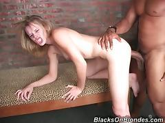 Tasty Dasha Gets Her Pussy Destroyed By A Huge Black Dude