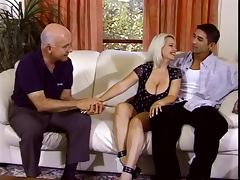Nicky Cuckolds Husband With Two Old Men tube porn video