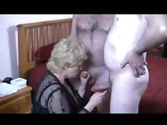 Granny Takes on 2 Jocks