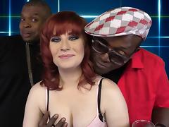 Delightful Sadie Kennedy Has Interracial Sex With A Black Guy