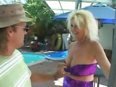 Blond Granny Screwed