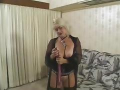 Thick Goth Blonde tube porn video