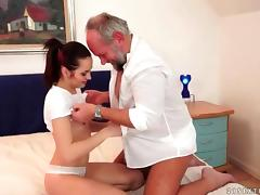 Grandpas and Cute Teens Compilation tube porn video