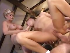 Friend's Mom Makes Teen Take Old Man's Cock Up Ass