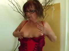 Mom and Boy, Creampie, Granny, Mature, Old, Piercing
