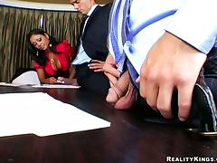 Office, Big Tits, Boss, MILF, Office, Reality