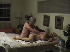 Lascivious Seniors Record Themselves