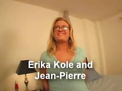 Deepthroating Nerd Erika Gets A Load On Her Face tube porn video