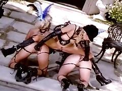Lesbian Teen, Blonde, Fetish, Group, Lesbian, Orgy