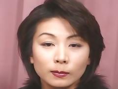 Bukkake for mature japanese tube porn video
