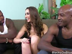 Black Orgy, Big Tits, Blowjob, Cowgirl, Cum in Mouth, Cumshot