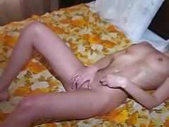 Bedroom, Bedroom, Fingering, Masturbation, Shaved Pussy
