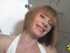 Sexy Hoe Gets Interracial Sex In The Toilet With Gloryhole Cock