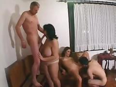 Russian, Amateur, Club, Dance, Group, Orgy
