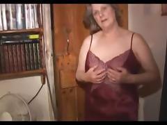 Tess, the old appealing granny - scene three