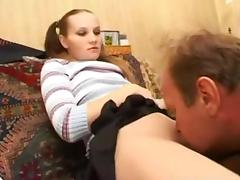 Female domination - pussy eating tube porn video