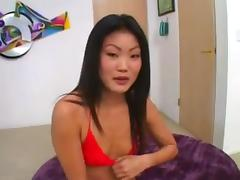 Lucy Lee gets two pies porn tube video