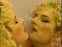 Sexy doll Kimberly Kyl is dildoing herself hard