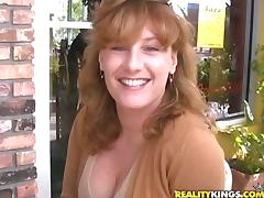 Luscious milf Fawn will want to have a huge cock