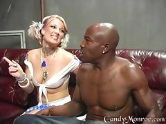 Scrumptious Justin Again Has Interracial Sex In Front Of Her Cuckold