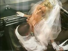 Bride, Big Tits, Blowjob, Boobs, Bride, Car