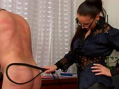 Spanking, BDSM, Boots, Brunette, Couple, Domination
