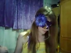 Awesome sexy chat under the mask porn tube video