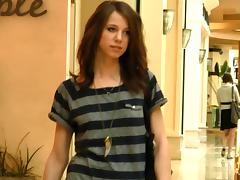 Sweet Allie Buys Some Clothes And Shows How She Tries Them On