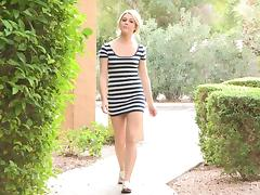 With a Name Like Chloe, she Has to be a Perfect Petite Blonde Slut!