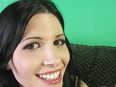 Rebecca Linares and her GF milk a BBC dry on their faces tube porn video