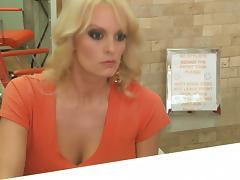 Cougar, Big Tits, Blonde, Blowjob, Boobs, Cougar