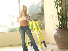 Sexy Solo Model Strips Off Her Very Tight, Sexy Jeans tube porn video