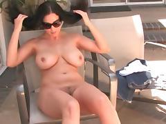 Pornstar, Backstage, Big Tits, Brunette, HD, MILF