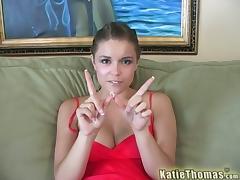 Katie Thomas Gets Fucked In This Hardcore Interracial Scene