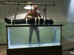 Sweet Dante And CJ Madison Play BDSM Games Underwater