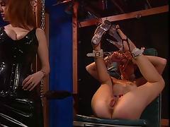 BDSM, BDSM, Femdom, Latex, Pussy, Redhead