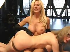 Nina's Webcam Show With Amber Lynn