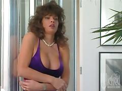 Bathroom is so full of orgasm when Nici Sterling goes wild