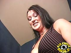 This Gloryhole Is Full Of Big Black Cock And She Loves It!