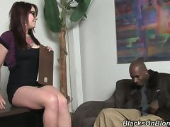 Tattooed Misti Dawn gets her pussy destroyed by a Black guy