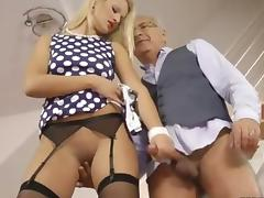 British Old and Young, Amateur, Blowjob, Boots, British, Handjob