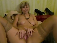 Old, Amateur, Blonde, Mature, Old, Pussy