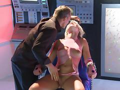 Anikka Albrite gets fucked by a captain of a spaceship