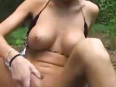 Bikini, Amateur, Big Tits, Bikini, Blowjob, Couple