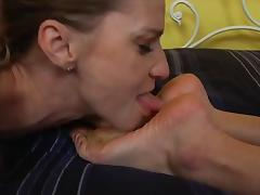 Best foot worship you'll see