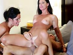 FFM videos. When one man and two excited ladies have sex together then it's FFM