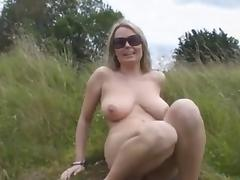 Big Boobs Blonde Fingering In Nature BVR porn tube video